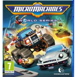 Micro Machines: World Series (PS4/XBox One/PC) £19.99 at Amazon