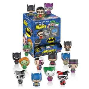 DC Comics Pint Size Heroes Mini-Figure Display Case £2.75 (if order less than £10 then also £1.99 P&P)