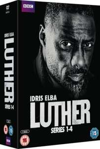 Luther Series 1-4 DVD Boxset £14.99 with free delivery @ HMV also same price at Amazon but delivery is only free for prime customers