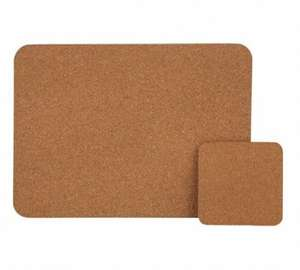 HOME Cork Set of 4 Placemats & Coasters £5.99 Was £12.99 Argos (Free C&C)