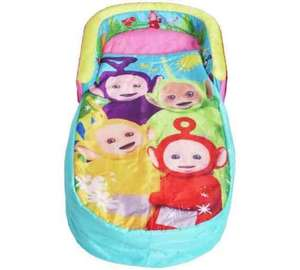 teletubbies ready bed - half price £14.99 Argos