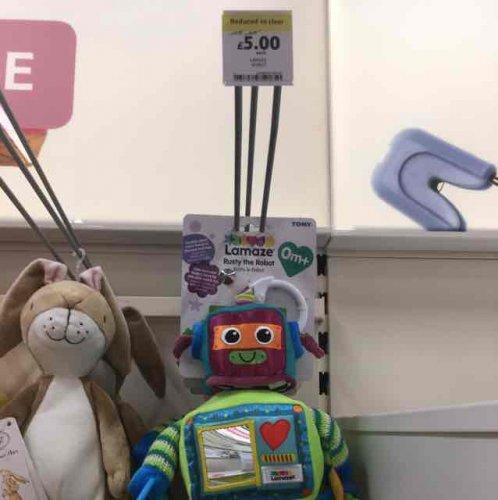Lamaze Rusty the Robot £5 instore at Tesco Kings Lynn