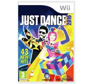 Just Dance 2016 Wii was £19.99 now only £9.99 @ Argos