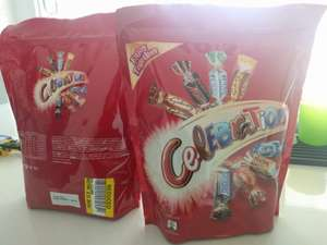 Celebrations chocolate 490g already reduced to 80p instore Tesco Bletchley