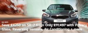 Brand New Kia Cee'd 5 door, 7 year warranty, £11497! @ Kia - DUNFERMLINE
