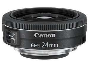 Canon EF-S 24 mm f/2.8 STM Lens £114.99 @ Amazon