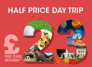 Eurotunnel Half Price Day Trip - £23 Return - (14th - 16th Feb 2017)