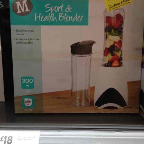 half price health blender in Morrisons (Wells) - £9