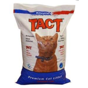 Kitzyme TACT Wood Based Cat Litter 30L (18.4kgs) - Morrisons £4