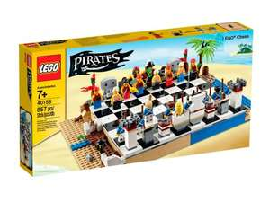 Lego Pirates Chess Set 40158 — £22.99 / £26.94 delivered at Lego