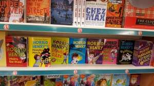 horrid henry books  £1 @ poundland