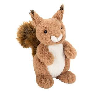 Sid the Squirrel - soft toy, reduced from £12 to £3.60 @ John Lewis (+ £2 C+C)
