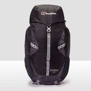 berghaus freeflow iii 25 rucksack for £30 + £3.99 delivery @ millet sports