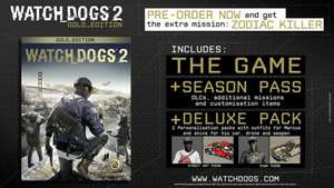 Watch Dogs 2 Gold Edition PS4/XBOX-ONE £38.39 @ Ubisoft (£30.71 with 100 Ubi points)