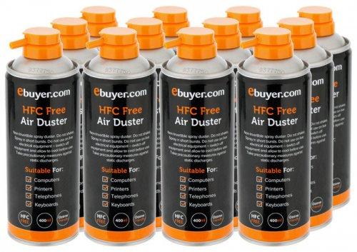 Ebuyer.com Air Duster - 400ml - 12 Pack - £25.38 @ Ebuyer