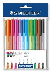 Staedtler 43235MPB10 Rainbow Ballpens - Pack of 10 £2.00 on Amazon (add-on item)