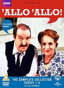 Allo 'Allo - The Complete Collection [DVD] [1982] £11.87  (Prime) / £14.86 (non Prime) at Amazon