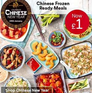 Celebrate Chinese New Year with Iceland with 8 oriental products to choose from for £1 each
