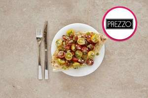 Three Course Meal with Glass of Wine for Two at Prezzo or Zizi £20 with code @ buyagift