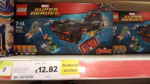 lego marvel super heroes set - £12.82 instore @ Tesco (llansamlet)