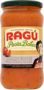 ragu tuna pasta bake sauce and heinz reduced salt chicken soup 10p a tin at poundstretchers