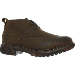 TIMBERLAND Dark Brown Leather Chukka Boots £49.99 @ TK Maxx (Online)