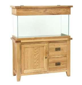 Aqua Oak 110cm 'Doors & Drawers' Aquarium and Cabinet, looks great in any living area, £599 @ Fishkeeper was £699