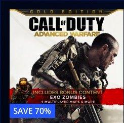 Call of Duty: Advanced Warfare Gold Edition PSN Store £15.99