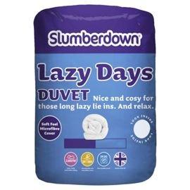 Slumberdown Lazy Days 10.5 Tog Duvet Kingsize & Double £9 & £8 ONLINE Tesco