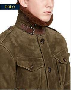 Shearling Combat Jacket £1522 50% off @ Ralph Lauren