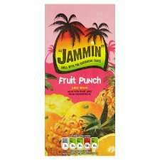 Jammin Fruit Punch & Tropical Juice Drink 1 Litre half price 44p @ tesco 25th