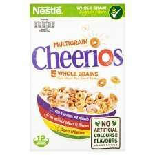 Nestle Cheerios Cereal 375G & Cheerios Oat Crisp Cinnamon , Cheerios Oat Crisp all half price £1.24 @ Tesco from 25th.