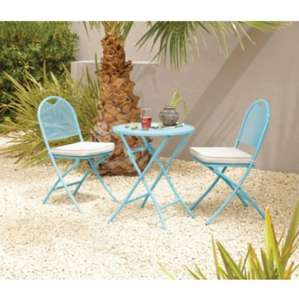 Outdoor furniture sale - Neo 3 piece bistro set was £79 now £39.50, 6 piece patio set was £199 now £99.50 -  more in post @ Asda Direct