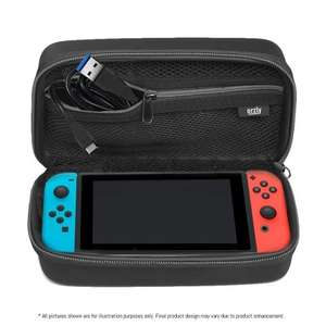 Nintendo Switch hard shell carry case - £9.99 + free UK delivery - Sold by G-Hub @ Amazon Marketplace