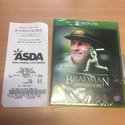 Don Bradman Cricket Xbox One @ Asda - £5