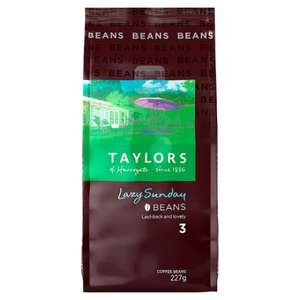 Taylors Lazy Sunday Coffee Beans  £1.75 @ Tesco instore