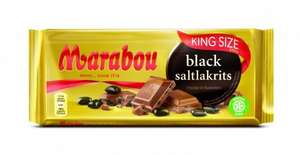 220g Black Saltlakrits (chocolate) - 50p @ Poundstretcher