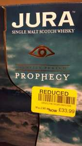 Jura Prophecy Whiskey 70cl Bottle £33.99 @ Waitrose Farnham