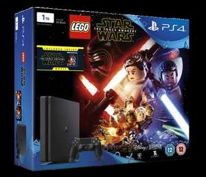 [PS4] PS4 Slim 1TB Plus Star Wars: The Force Awakens(Lego Game & Blu-Ray)-£219.85(ShopTo)