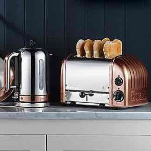 Dualit Classic Kettle and Toaster Bundle in Copper £229.98 @ Lakeland