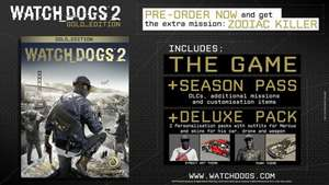 Watch Dogs 2 Gold With FREE Watch Dogs DEDSEC Edition (£40.95 20% discount using uplay points) £51.19 @ Ubi