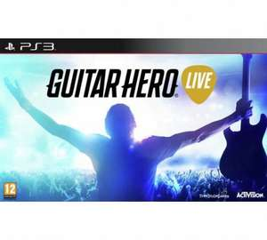 Guitar Hero Live game and controller PS3/Xbox 360 £12.99 Argos