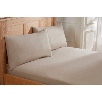 Brushed Cotton Sheet Set Single - £1 - B&M Retail