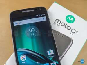 "[Back in Stock] Moto G4 Play 5"" HD, Android 6.0.1 (Black/White) - £79.01 delivered with codes stack @ Motorola"