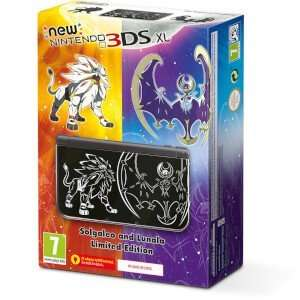 New Nintendo 3DS XL Solgaleo and Lunala Limited Edition £179.99 @ nintendo online store