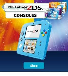 pokemon 2ds sun and moon limited edition consoles £89.99 back in stock at nintendo