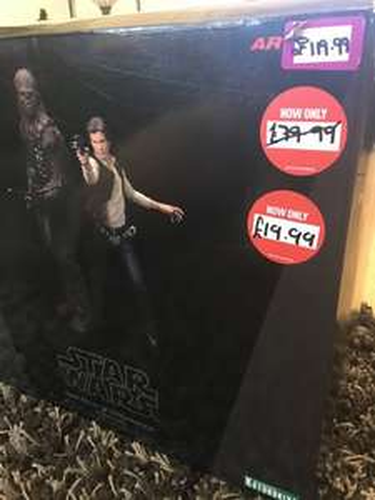 Kotobukiya ArtFX Star Wars 2-Pack Figures Reduced from £119.99 to £19.99 INSTORE @ GAME