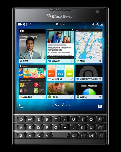 48 hours Flash Sale: BlackBerry Passport - Black £220 @ Blackberry Store