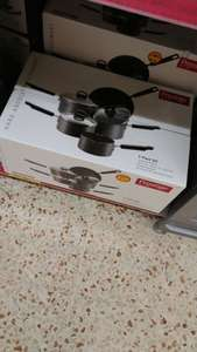 Prestige Anodised 5 piece pan set £15 @ morrisons