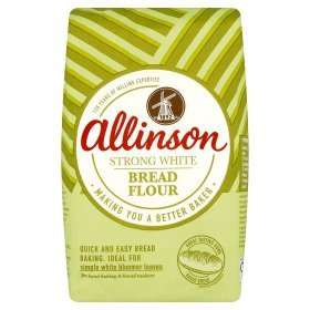 Allinson Strong White Bread Flour 1.5KG 87p at Asda